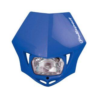 POLISPORT   MMX HEADLIGHT – BLUE
