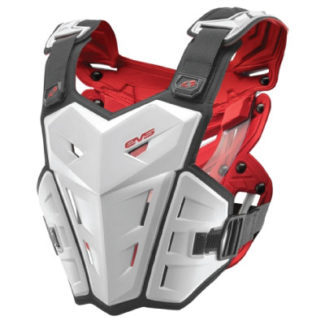 EVS | F1 CHEST PROTECTOR – WHITE – YOUTH