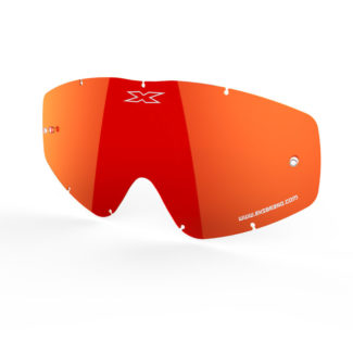 EKS-BRAND | GO-X ANTI-FOG LENS – RED MIRROR