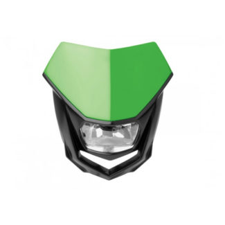 POLISPORT   HALO HEADLIGHT – GREEN