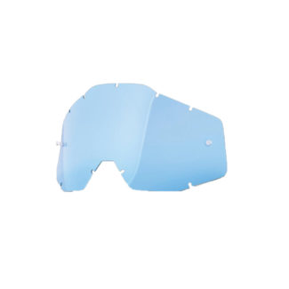 100% | RACECRAFT / ACCURI / STRATA | REPLACEMENT LENS – BLUE TINT