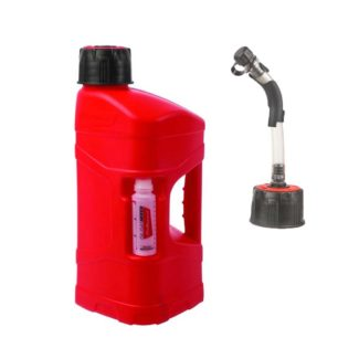 POLISPORT | PRO-OCTANE UTILITY CAN WITH HOSE – 10 LITRE