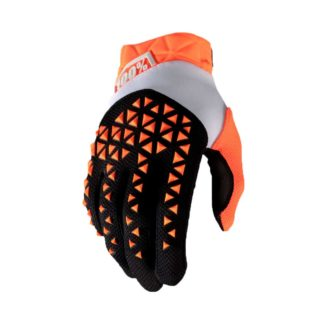 100% | GLOVE  AIRMATIC – ORANGE/BLACK