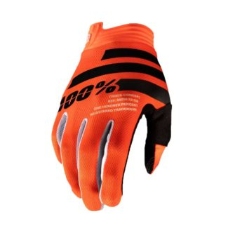 100% | GLOVE  ITRACK – ORANGE/BLACK