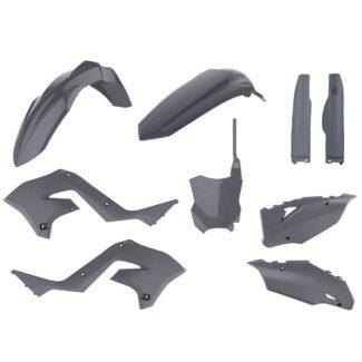 POLISPORT | RESTYLING PLASTIC KIT – KAWASAKI KX125 / KX250 (03-08) NARDO GREY