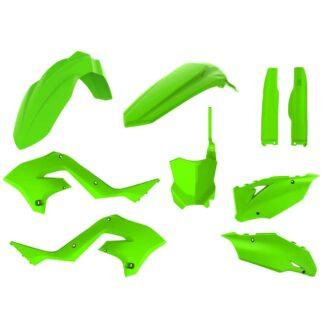 POLISPORT | RESTYLING PLASTIC KIT – KAWASAKI KX125 / KX250 (03-08) LIME GREEN