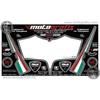 MOTOGRAFIX |FRONT NUMBER BOARD | DUCATI 748/916/996/998 (93-02)