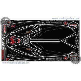 MOTOGRAFIX |FRONT NUMBER BOARD | HONDA CBR1000RR (12-15)