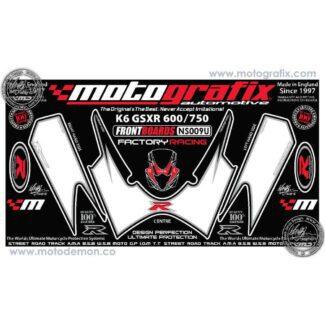 MOTOGRAFIX |FRONT NUMBER BOARD | SUZUKI GSXR600/750 (06-07)
