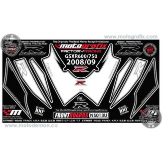 MOTOGRAFIX |FRONT NUMBER BOARD | SUZUKI GSXR600/750 (08)