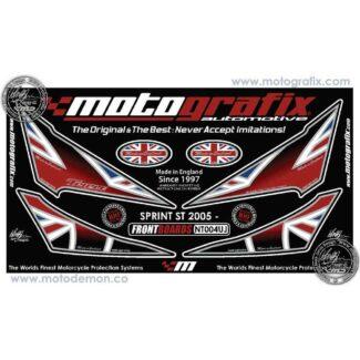 MOTOGRAFIX |FRONT NUMBER BOARD | TRIUMPH SPRINT ST (05-09)
