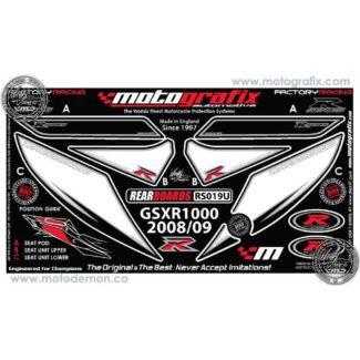 MOTOGRAFIX |REAR NUMBER BOARD | SUZUKI GSX-R1000 (09)