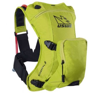 USWE | AIRBORNE 3 HYDRATION PACK – CRAZY YELLOW