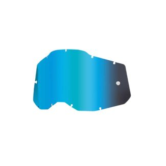 100% | RC2/AC2/ST2 REPLACE LENS – MIRROR BLUE