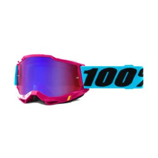 100% GOGGLES | ACCURI 2 | LEFLEUR – MIRROR RED/BLUE