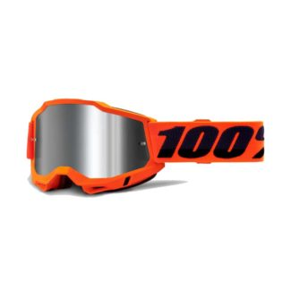 100% GOGGLES | ACCURI 2 | ORANGE – MIRROR SILVER