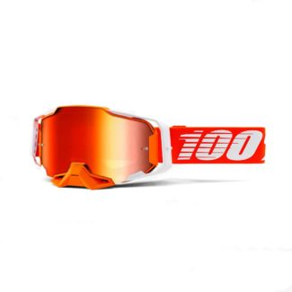 100% GOGGLES | ARMEGA | REGAL – MIRROR RED