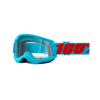 100% GOGGLES | STRATA 2 | SUMMIT – CLEAR