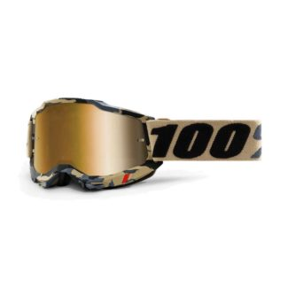 100% GOGGLES | ACCURI 2 | TARMAC – TRUE GOLD