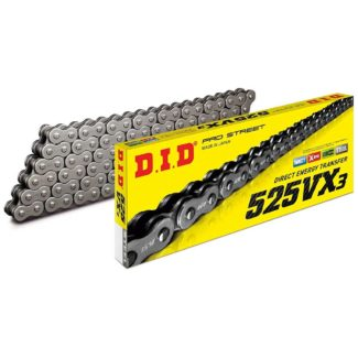 D.I.D | 525VX3 120 LINK CHAIN (GOLD/BLACK)