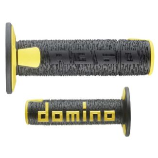 DOMINO | A360 OFF ROAD | 3D DOMINO GRIPS – BLACK/YELLOW