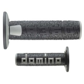 DOMINO | A360 OFF ROAD | 3D DOMINO GRIPS – BLACK/GREY