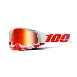 100% GOGGLES | RACECRAFT 2 | ST-KITH – MIRROR RED
