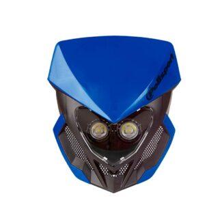 POLISPORT   LOOKOS EVO HEADLIGHT – BLUE/BLACK