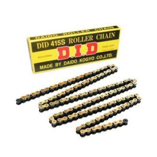 D.I.D | 415S 132 LINK STANDARD CHAIN – GOLD/BLACK